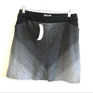 Adidas Golf Rangewear A Line Skort Black Grey S